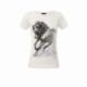Koszulka damska biała Galopujący Koń