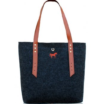 "Torba Philosophy Shopper Bag ""Gallop!"""