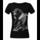 Koszulka damska czarna Galopujący Koń