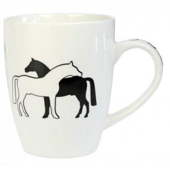 """Kubek """"Two Horses"""""""