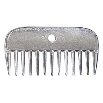 Grzebień aluminiowy krótki