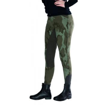 Bryczesy Domino Camouflage