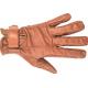 Rękawiczki skórzane HKM ze skóry bawolej