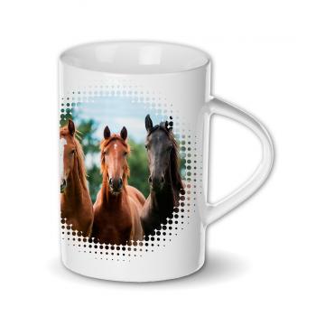 """Kubek """"Trzy konie"""""""