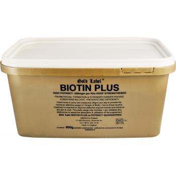 GOLD LABEL Biotin Plus Biotyna z cynkiem 900 g