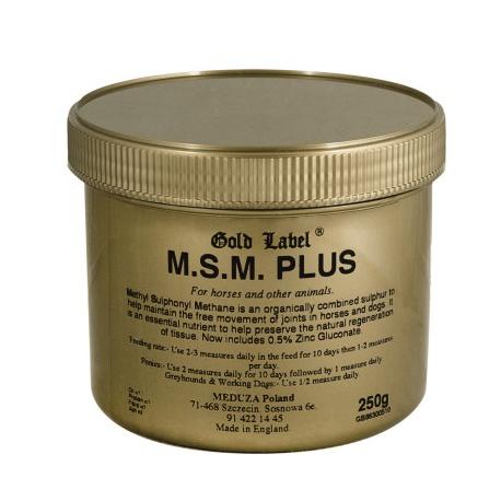 MSM Plus GOLD LABEL preparat wzmacn stawy 250 g