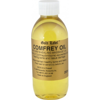 GOLD LABEL Comfrey Oil olejek do wcierania 250 ml