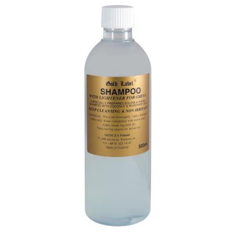 GOLD LABEL Shampoo For Greys szampon dla siwych koni