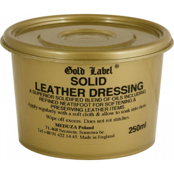 Solid Leather Dressing Gold Label balsam do skór