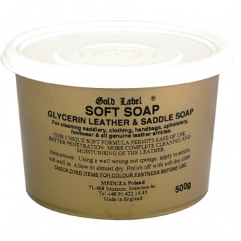 Mydło Gold Label Saddle Soap 500 g