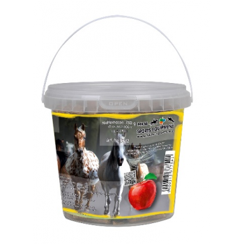 Cukierki HKM jabłkowe wiaderko 750 g