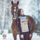 Bluza jeździecka Horsense Riding Team Damska
