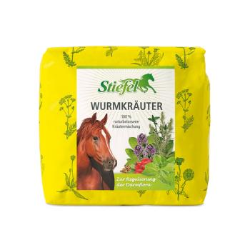 Zioła Stiefel przeciw pasożytom wewnętrznym dla koni