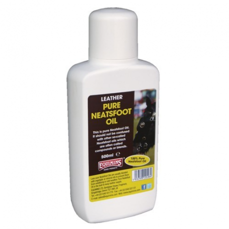 Equimins Czysty olej z kości goleniowej bydlęcej, do pielęgnacji wyrobów skórzanych -  Neatsfoot Oil