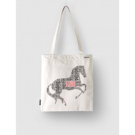 "Torba Cotton ""Horse Cloud"""