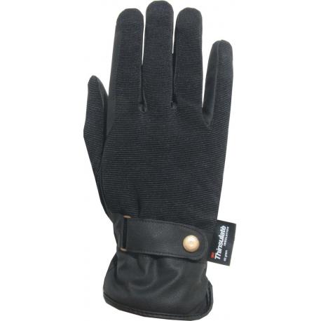 Rękawiczki York Snap czarne