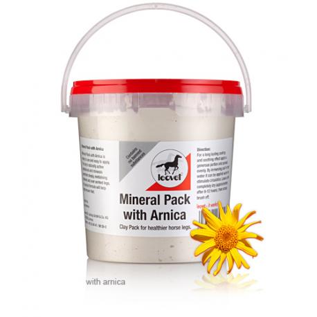Glinka chłodząca z arniką Leovet Mineral Pack plus Arnika
