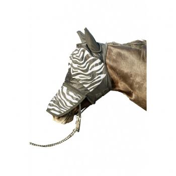 Maska przeciwmuchowa HKM Zebra