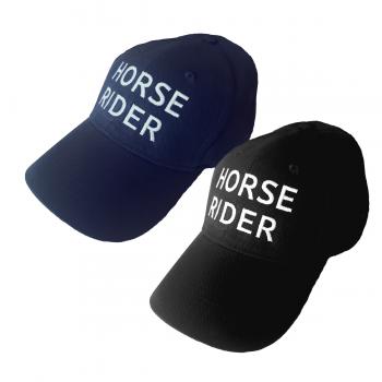 Czapka z daszkiem Horse Rider czarna