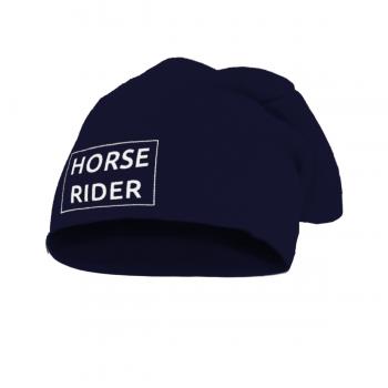 Czapka Horse Rider granatowa