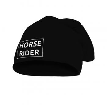 Czapka Horse Rider czarna