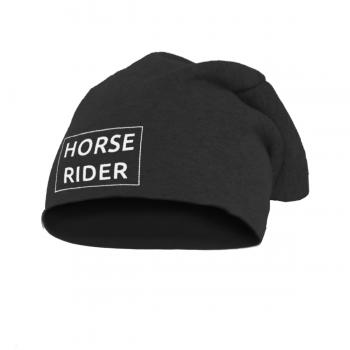 Czapka Horse Rider ciemny melanż