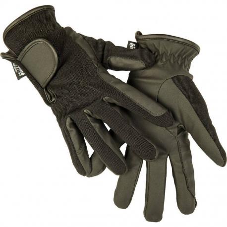 Dziecięce rękawiczki HKM zimowe imitacja skóry