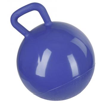 Piłka dla konia do zabawy niebieska