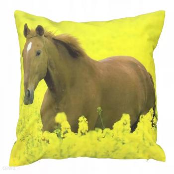 FOTO POSZWA na poduszkę koń 39x39 ozdobna poszewka