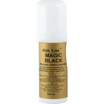 GOLD LABEL Magic Black preparat do skór