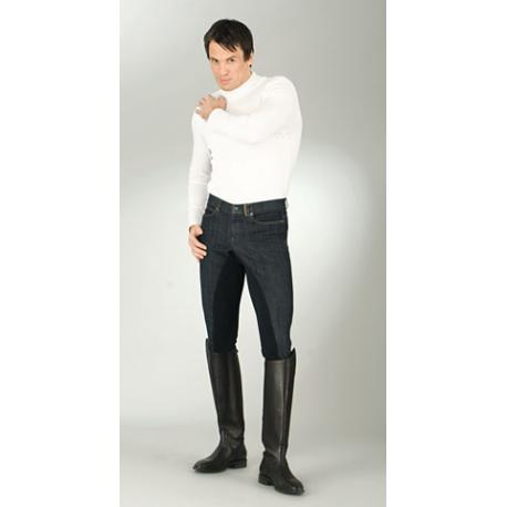 Bryczesy męskie COVALLIERO jeansowe Denim