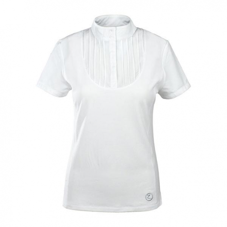 Koszulka damska HORZE plisowana z przodu