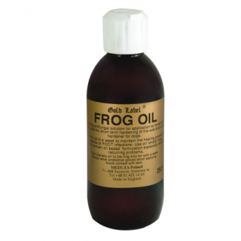 Olejek do strzałek Gold Label Frog Oil 250ml