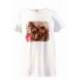 Magiczny t-shirt Pferdefreunde biały